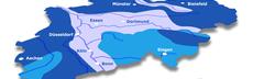 Karte wasservergleich