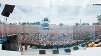 Poster knebworth panoramic 1996 august