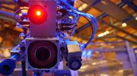 Roboterauge links